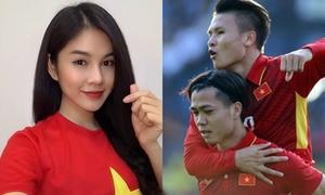 MC nữ hot nhất AFF Cup tin Quang Hải, Công Phượng ghi bàn tối nay