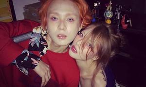 Bỏ thói quen cũ, Hyun Ah đổi cách trang điểm kỳ quặc giống hệt bạn trai