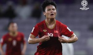 Báo nước ngoài ca ngợi cú sút 'như Messi' của Quang Hải