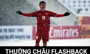 Quang Hải được fan chế ảnh khen ngợi siêu phẩm cầu vồng