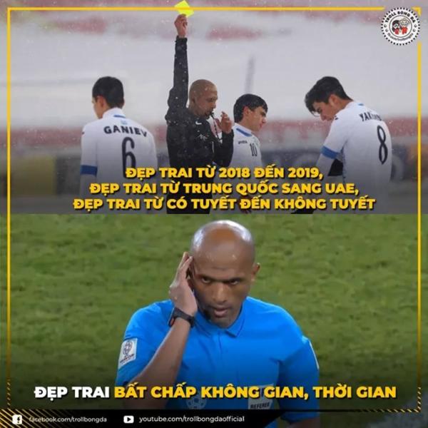Trọng tài người Oman trong mắt CĐV Việt.