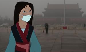 Khi nhân vật hoạt hình sống trong tình trạng ô nhiễm môi trường
