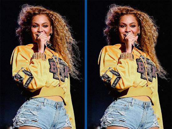 Tinh mắt soi Beyoncé có gì khác lạ? - 2