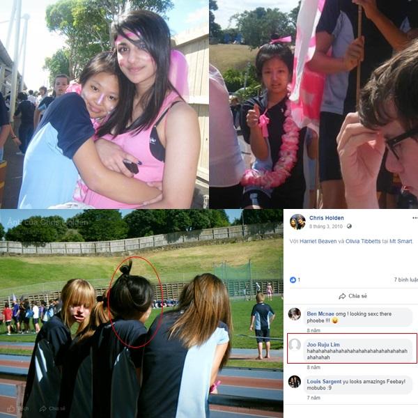 Một người bạn của chủ nhânfacebook này từng đăng những tấm hình trong đó có ngườirất giống Jennie.