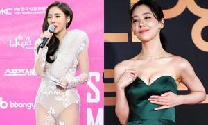 Dàn sao nữ Hàn bị chỉ trích vì váy áo phản cảm trên thảm đỏ