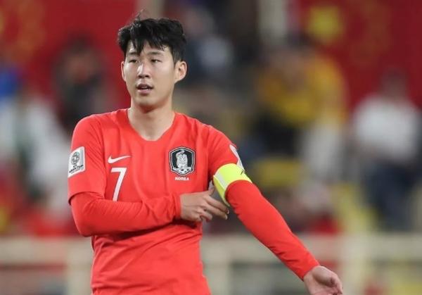 Tiền đạo Son Heung-min của Hàn Quốc.
