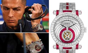Các siêu sao bóng đá 'đốt tiền' cho thú chơi đồng hồ xa xỉ