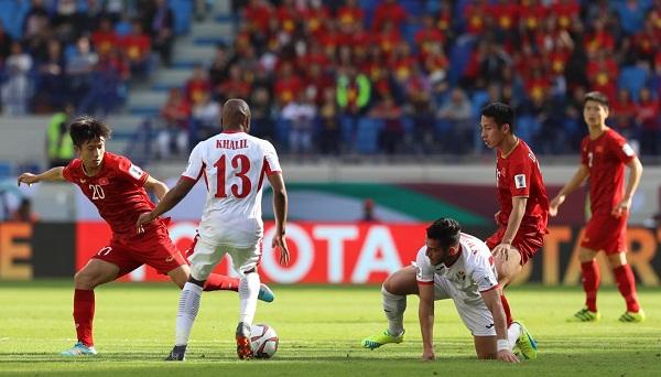 Việt Nam 1 - 1 Jordan (hiệp 2): Công Phượng, Văn Đức, Quang Hải bùng cháy - 1