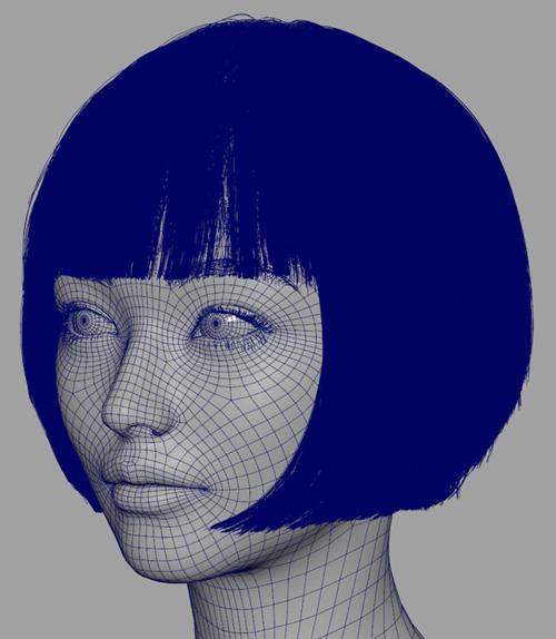 Khi nhìn vào bức ảnh này chúng ta có thể nhận ra, chính đồ họa máy tính đã xây dựng nên hình tượng một cô người mẫu Imma xinh đẹp cùng những tỷ lệ vàng trên gương mặt. Từng đường nét trên gương mặt chân thật và sống động đến mức chẳng ai nghĩ Imma là một mô hình nhân tạo.