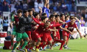 Vào tứ kết, tuyển Việt Nam 'gây sốt' tại Hàn Quốc
