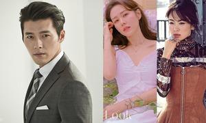 Hội bạn gái của Hyun Bin: Toàn những mỹ nhân 'không phải dạng vừa'