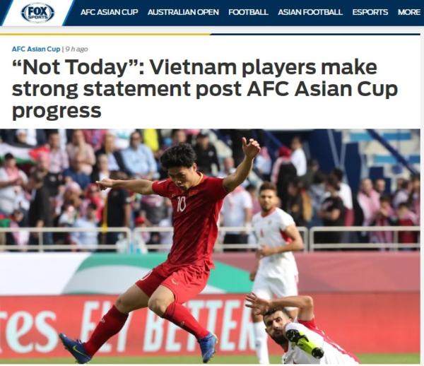 Fox Sports thích thú với anh sẽ về nhưng không phải hôm nay của tuyển thủ Việt - 2