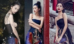 Khánh Linh The Face mặc đụng đầm 5.000 USD với Jun Vũ, Quỳnh Anh
