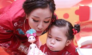 Maya tổ chức sinh nhật 4 tuổi hoành tráng cho con gái