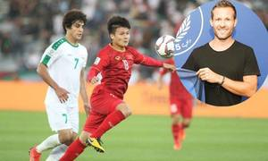Tuyển thủ Pháp nhắn tin chúc mừng Quang Hải sau chiến thắng