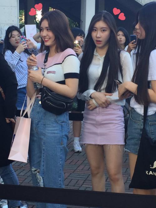 Somi từng xuất hiện cùng các thành viên ITZY.