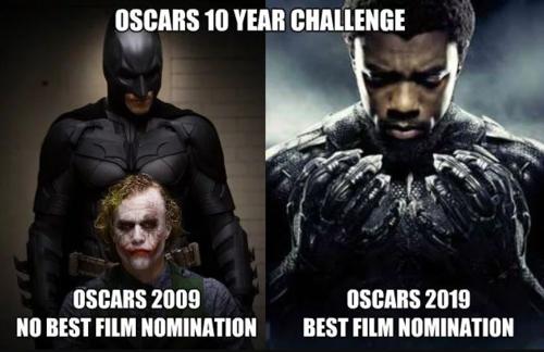 Fan của The Dark Knight rất bức xúc trước sự lựa chọn các đề cử của Oscar năm nay.