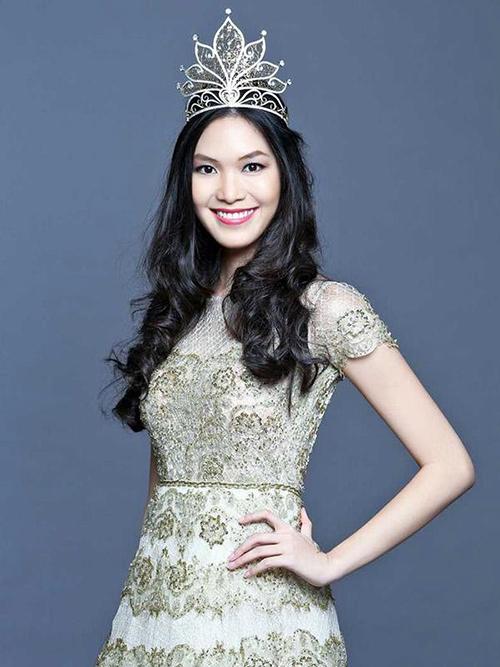 Thùy Dung từng công bố tham dự Miss Supranational 2017 nhưng hủy thi phút chót.