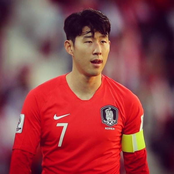 Bức ảnh Son Heung-min kèm với thông báo được CLB Tottenham đăng trên trang.