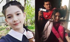 Em gái lai 12 tuổi đáng yêu của thủ môn Đặng Văn Lâm