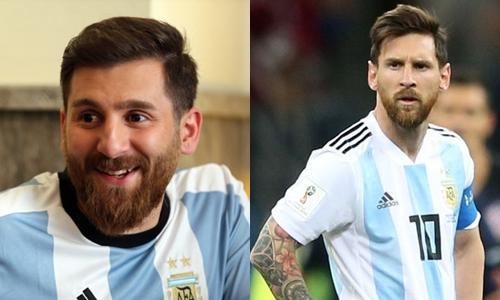 Ngoại hình của Razi quá giống với siêu sao người Argentina.