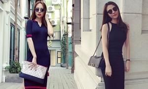Style đơn giản, trẻ trung của vợ mới Cường Đô La