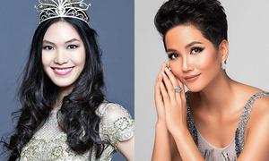 Hoa hậu Thùy Dung dè bỉu giải thưởng sắc đẹp H'Hen Niê tranh đua