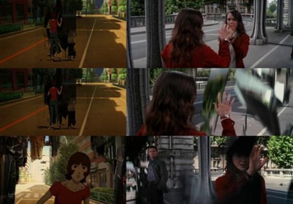 Hình ảnh tương đồng giữa Paprika và Inception.