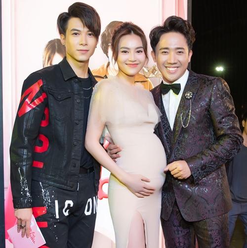 Bộ ba diễn viên chính của phim Trấn Thành - Lan Ngọc - Anh Tú.