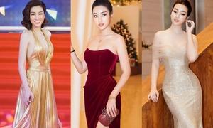 Hết nhiệm kỳ hoa hậu, Đỗ Mỹ Linh ngày càng gợi cảm