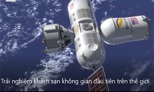 9,5 triệu USD cho một lần ngủ khách sạn trong vũ trụ