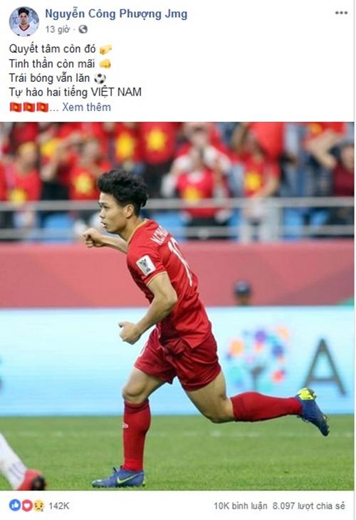 Chia sẻ đầu tiên của tuyển Việt Nam sau trận thua Nhật Bản đều nhận bão like - 2