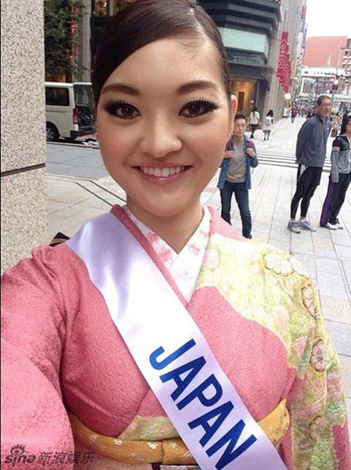 Riga Hongo là một trong những trường hợp gây xôn xao nhất lịch sử nhan sắc Nhật Bản khi đăng quang Hoa hậu Quốc tế Nhật Bản 2014. Gương mặt với đôi mắt nhỏ, cách xa nhau