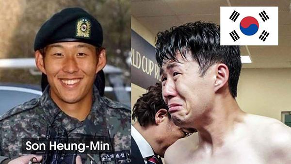Son Heung Min bị chế ảnh xách va li về nước sau trận thua Qatar - 3