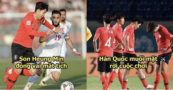 Son Heung Min bị cho có một trận đấu mờ nhạt như mất tích trên sân cỏ khiến Hàn Quốc buồn bã rời cuộc chơi.