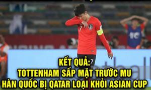 Son Heung Min bị chế ảnh 'xách va ly về nước' sau trận thua Qatar