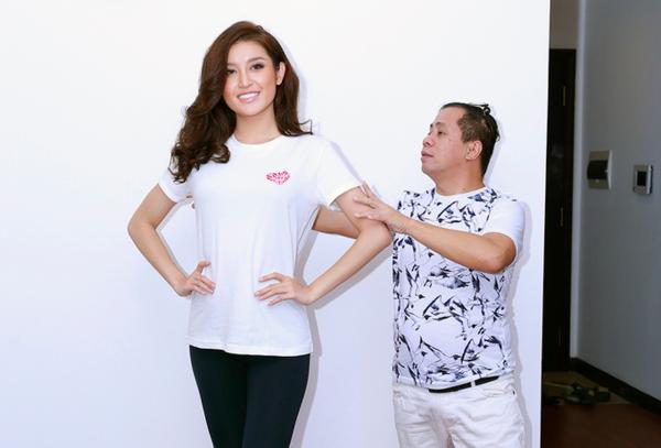 Anjo Santos từng hướng dẫn Huyền My vào top 10 Miss Grand International.