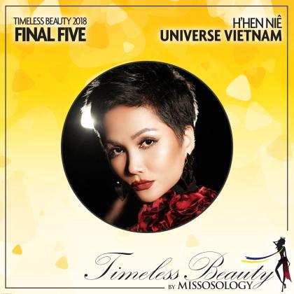 HHen Niê có nhiều lợi thế lớn trong cuộc đua giành giải Hoa hậu đẹp nhất năm 2018.