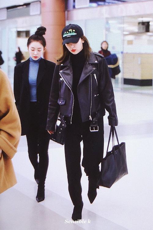 Black Pink, Red Velvet sân bay - 5