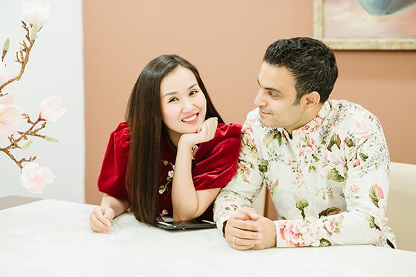 Vừa cưới xin, Võ Hạ Trâm cùng chồng Ấn Độ dọn nhà đón Tết - 7
