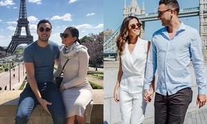 Mối tình 4 năm 'đưa nhau đi khắp thế gian' của Miss Intercontinental 2018
