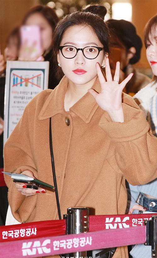Black Pink, Red Velvet sân bay - 3
