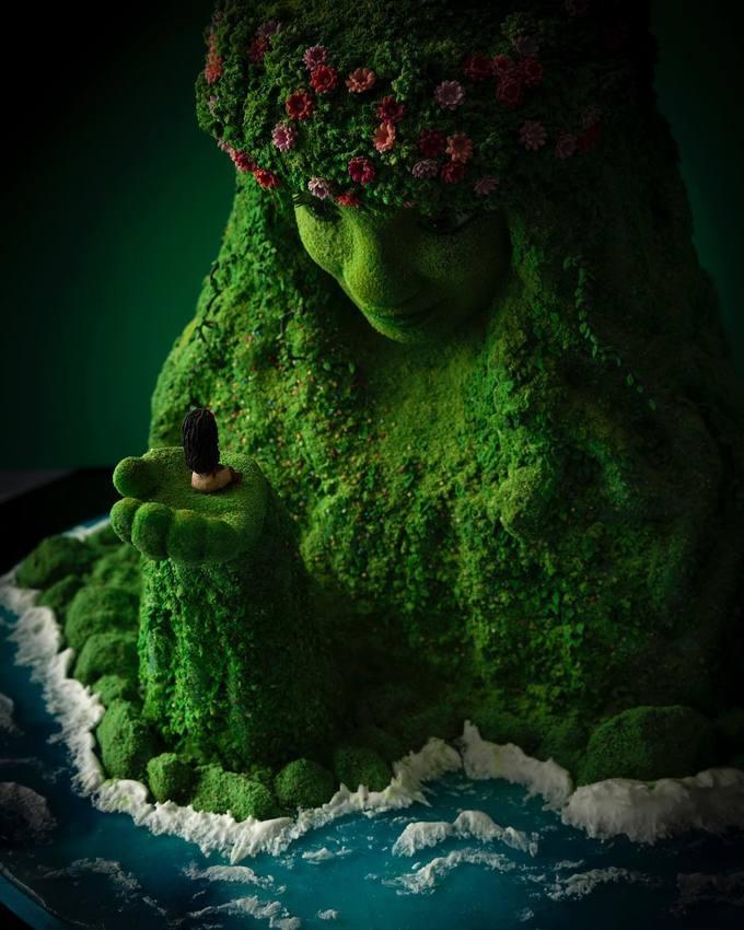 <p> Nhìn chiếc bánh này, ai cũng nghĩ đây là mô hình được tạo dựng từ bộ phim hoạt hình nổi tiếng.</p>