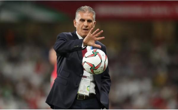 HLV trưởng đội tuyển Iran, ôngCarlos Queiroz.