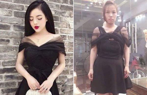 Để không gặp thảm họa shopping qua mạng, các cô gái trước khi rút ví nên cảnh giác với những shop chỉ chuyên dùng hình ảnh cóp nhặt từ các trang khác, không công bố hình thật của sản phẩm.
