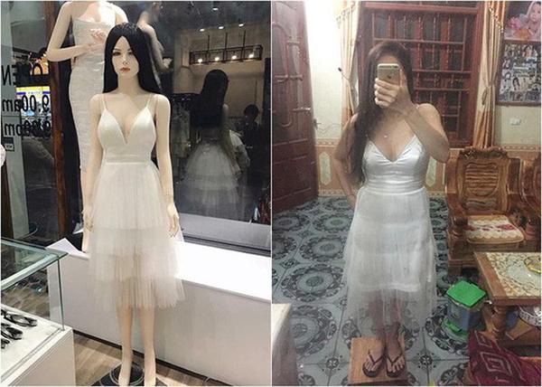 Nếu có điều kiện, bạn nên đến tận nơi để thử với những mẫu trang phục kén dáng vì cùng một món đồ, khi lên người vẫn có thể khác xa mannequin.