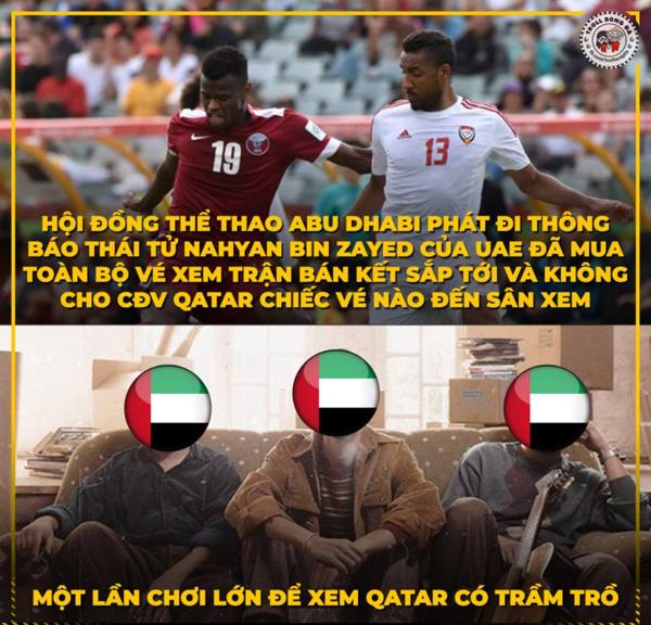 Những bình luận gây cười nhất về trận bán kết bi kịch của UAE