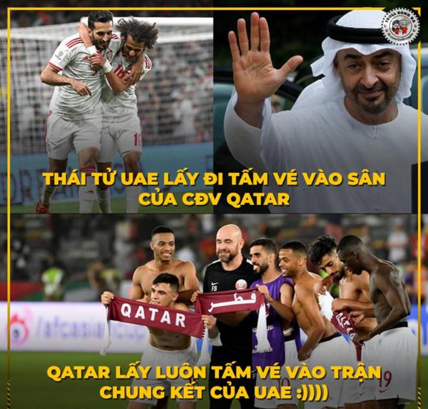 Những bình luận gây cười nhất về trận bán kết bi kịch của UAE - 1