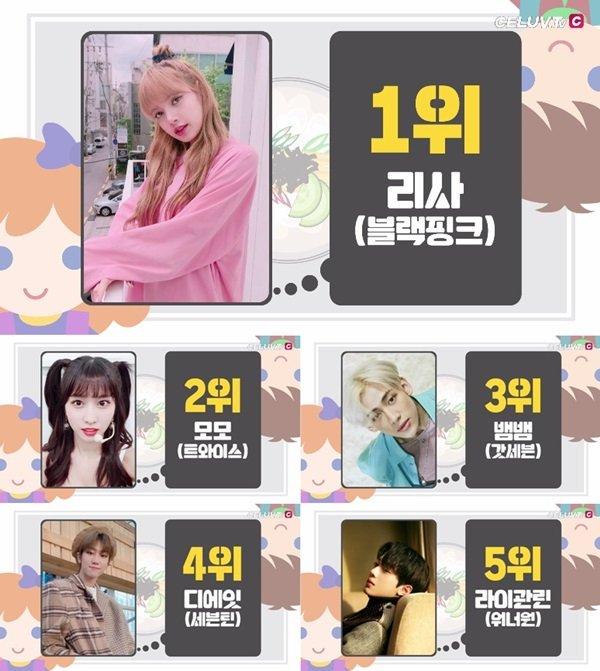 Lisa chứng minh mức độ nổi tiếng đối với fan Hàn.