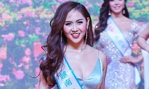 Cô gái Khánh Hòa đoạt ngôi Á hậu 2 Miss All Nations 2019